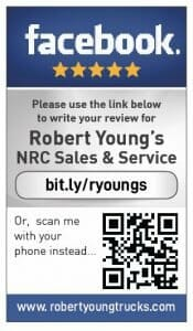 Facebook review cards for Robert Youngs