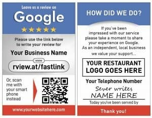 Google Server Review Card Product Image front and rear 600x774