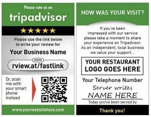 Tripadvisor Server Review Card Product Image front and rear 600x774