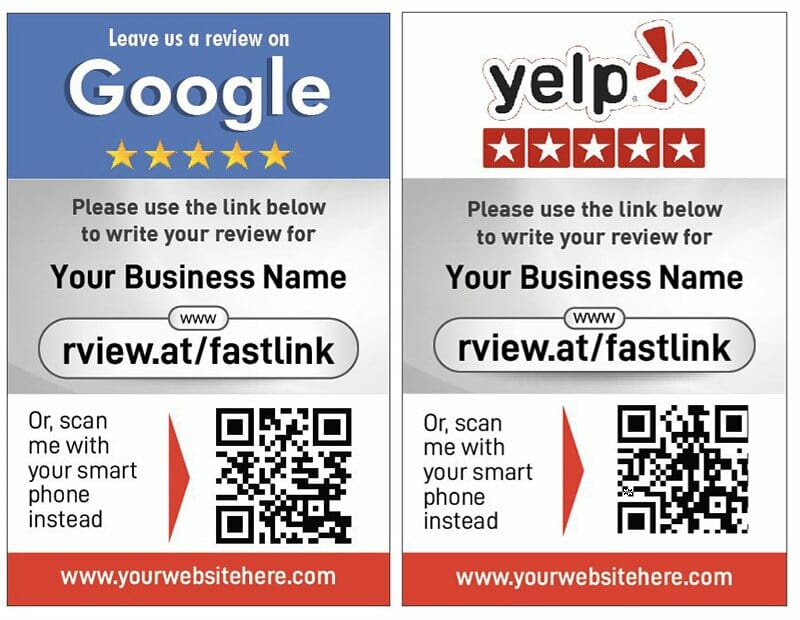 2020 Google_Yelp Dual cards