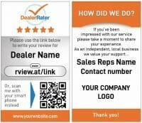 Dealer Rater Reviews
